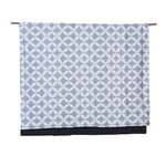 Pirouette Washed Denim</p>Denim-backed Throw