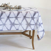 Star Silver </p>Sheer Tablecloth