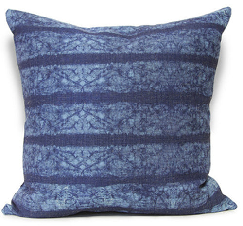 Bhutan Cushion Indigo