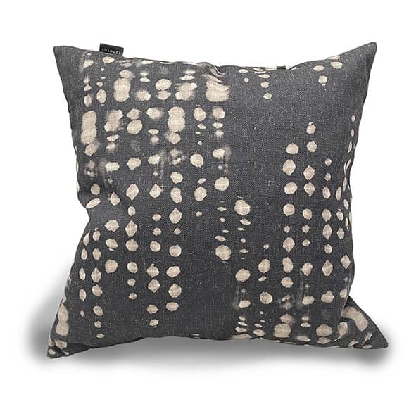 Love Note Cushion Charcoal