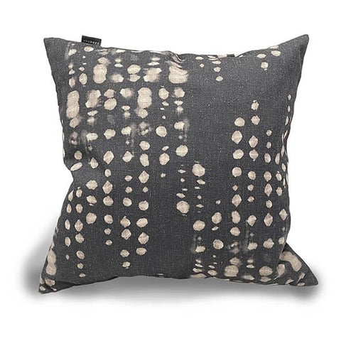 Leaf Cushion Indigo