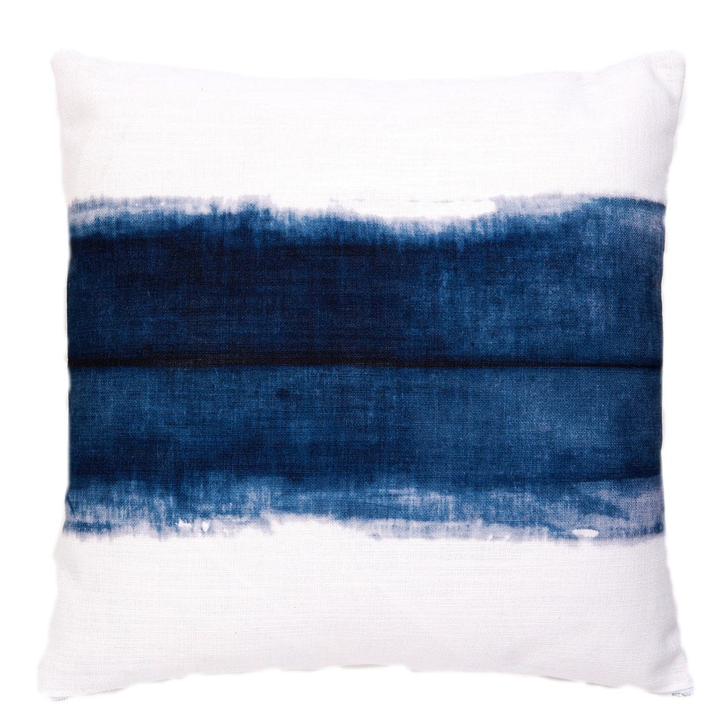 Single Stripe Cushion Indigo