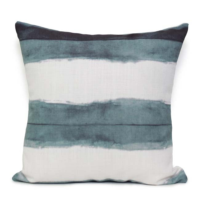 Stripe Cushion Ocean