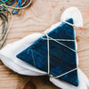 Furoshiki wrapping and itajime Indigo Dyeing