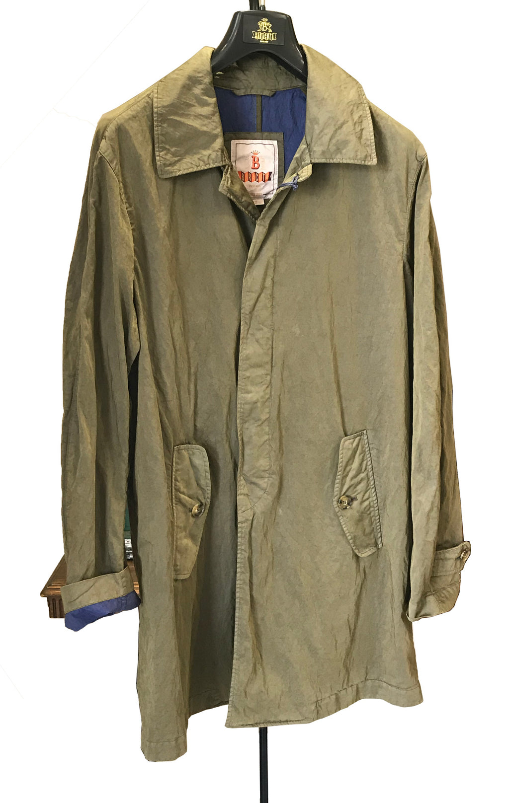 Baracuta Denim Overcoat