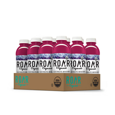 ROAR Organic Blueberry Açaí [12 Pack Case]