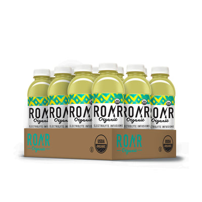 ROAR Organic Pineapple Mint [12 Pack Case]