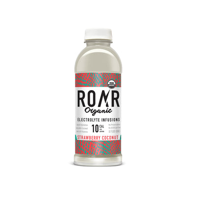 ROAR Organic Strawberry Coconut [12 Pack Case]