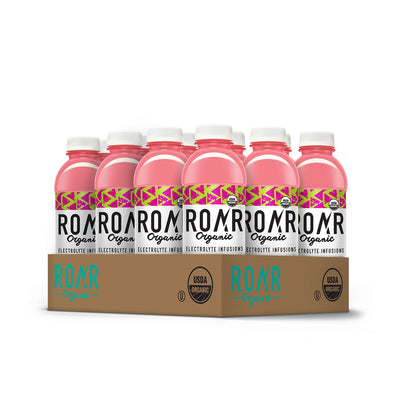 ROAR Organic Cucumber Watermelon [12 Pack Case]
