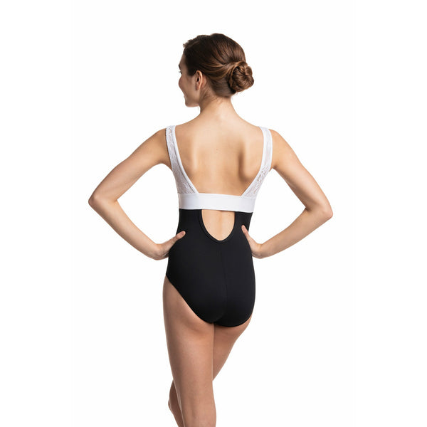 Ainsliewear Manon Leotard with Kara Lace