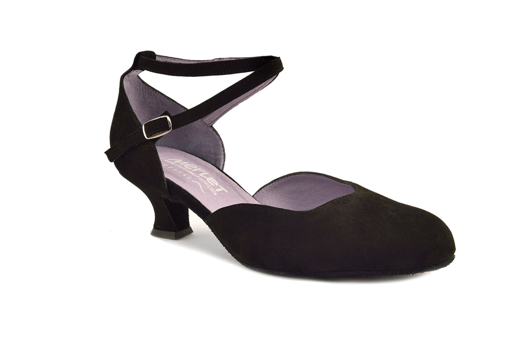 Merlet Badras Closed Toe Ballroom Shoe