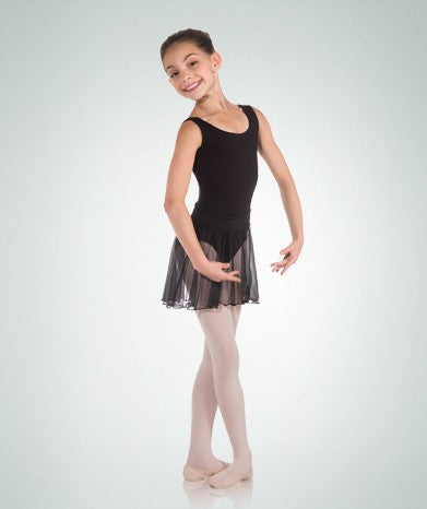 Body Wrappers Medium Length Pull-On Dance Skirt