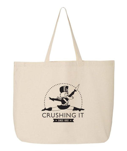 Covet Dance Crushing It Nutcracker Canvas Tote