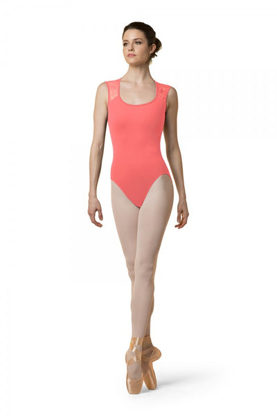 Mirella Scoop Neck Tank Leotard