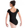 Motionwear Raglan Cap Sleeve Leotard