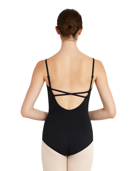 Capezio Camisole Bodysuit With Cross Back