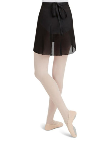 Capezio Georgette Wrap Skirt