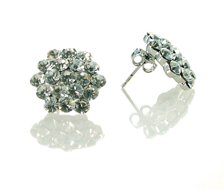 FH2 Crystal Cluster Earrings 16MM