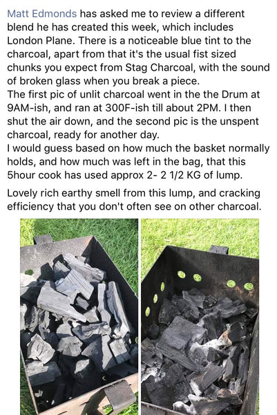 Charcoal Blend Review