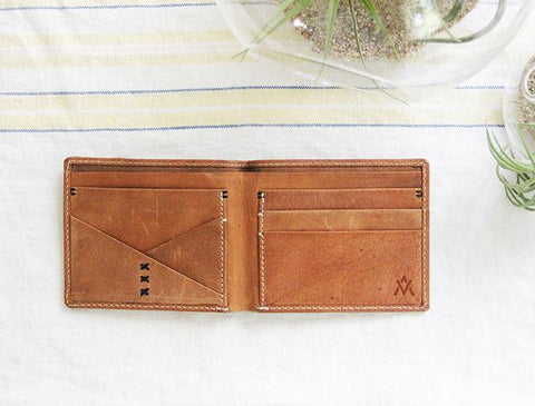 Wend Leather Wallet