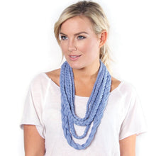 Flat Braid Scarf