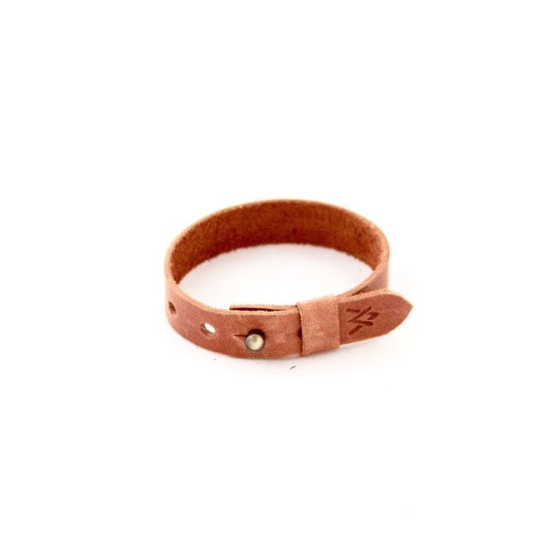 Caitlin Leather Wrap Bracelet