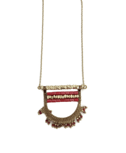Persephone Fringe Necklace