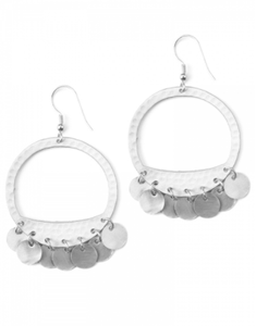 Moon Fringe Earrings