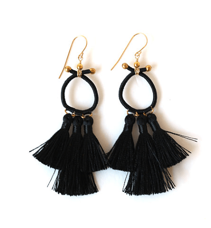 Marsha Tassel Earrings