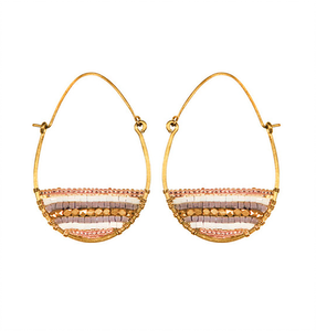 Terra Hoop Earrings