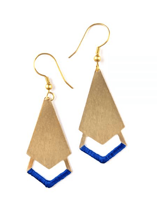 Threaded Arrow Earrings