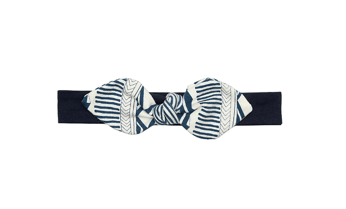 Banded Together Baby Bow Headband