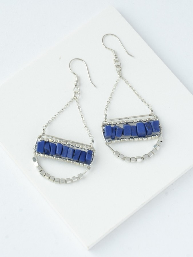 Abundance Of Blue Earrings