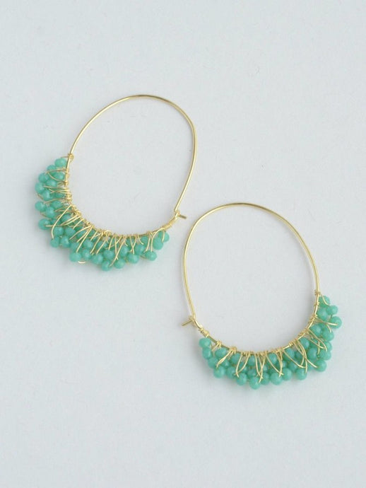 Chandelier Hoop Earrings