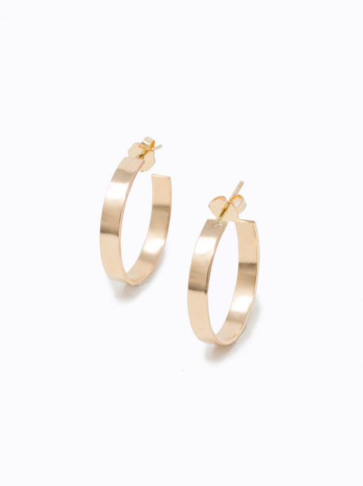 Regal Hoop Earrings