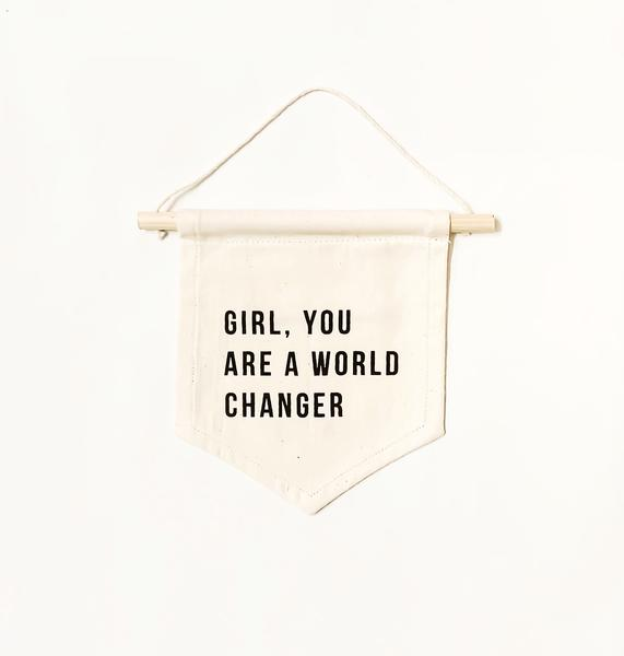 wall hanging world changer
