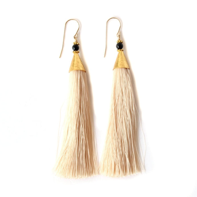 Infinite Tassel Earrings