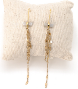 Golden Dangle Earrings
