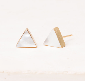 Leigh Mother Of Pearl Studs