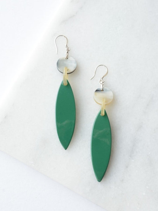 Lotus Leaf Earrings