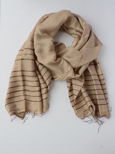 silk scarf stripped