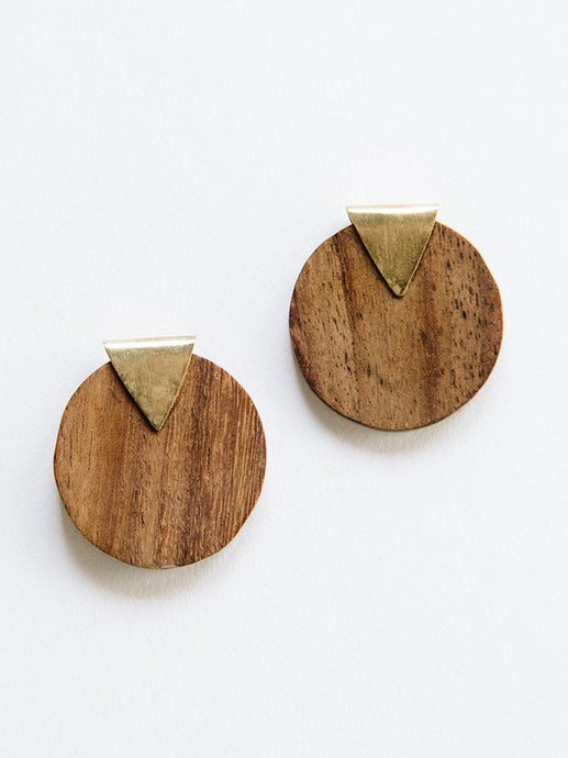 Faceted Wood Studs