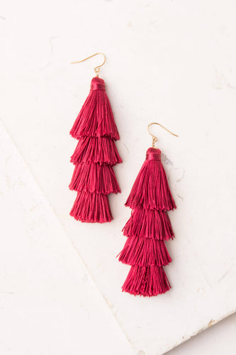 Mollie Tassel Earrings