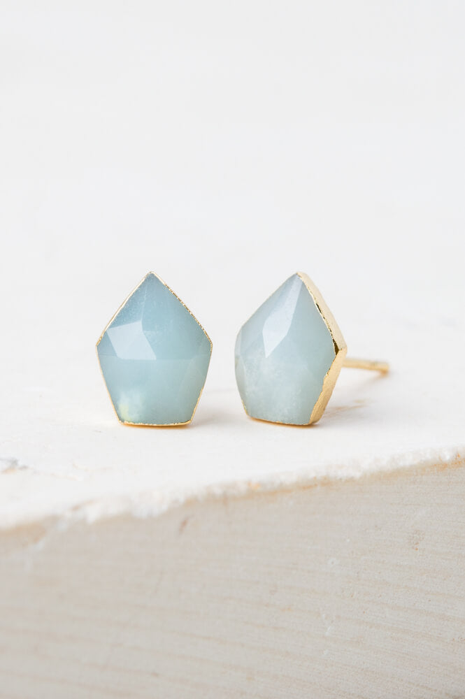 Taylor Light Turquoise Studs