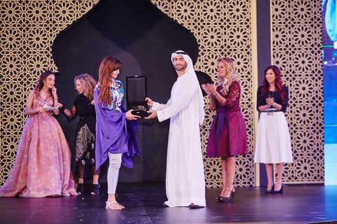 Receiving Finalist award - Yas, Abudhabi