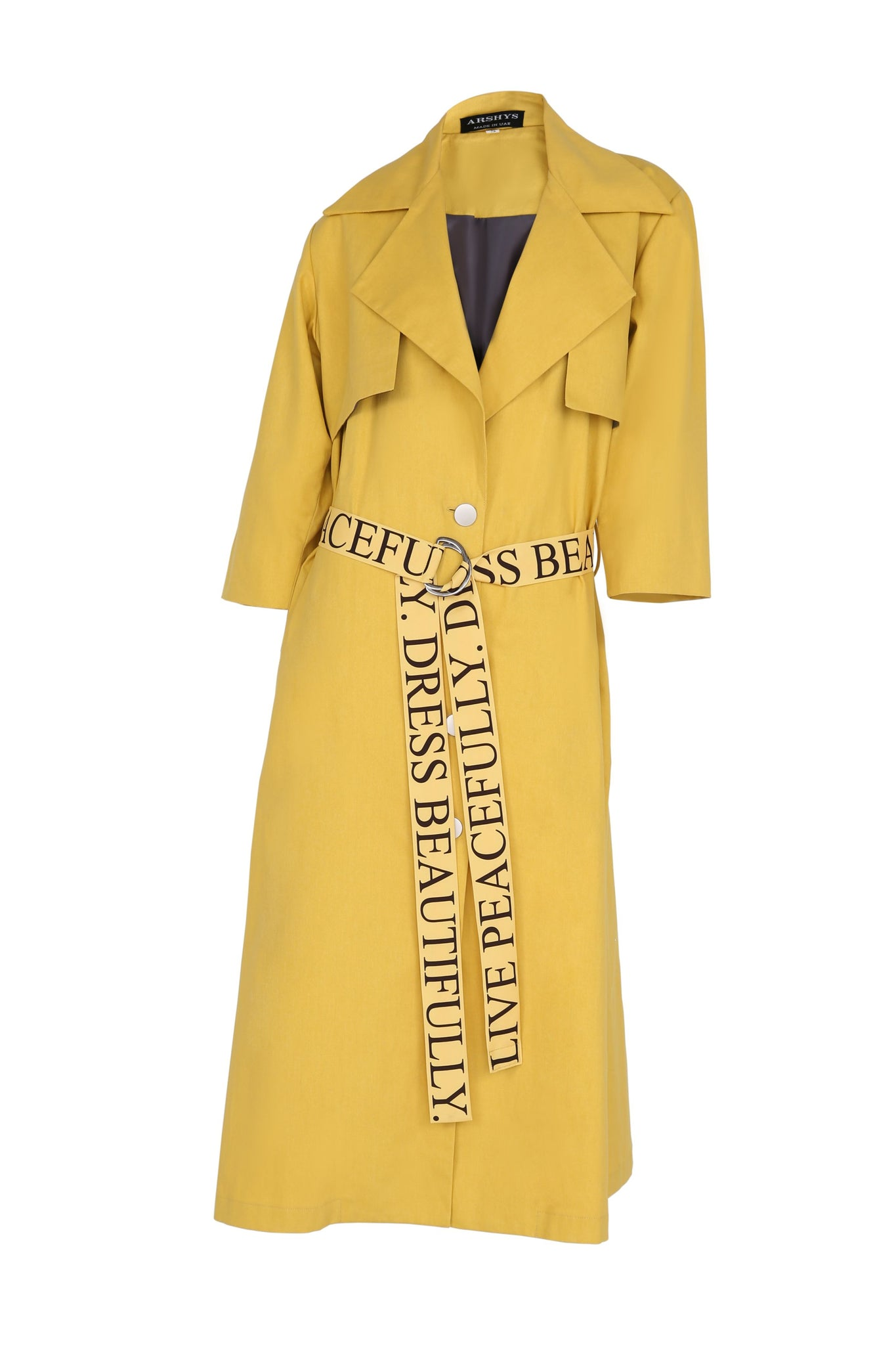Cotton Statement Trench
