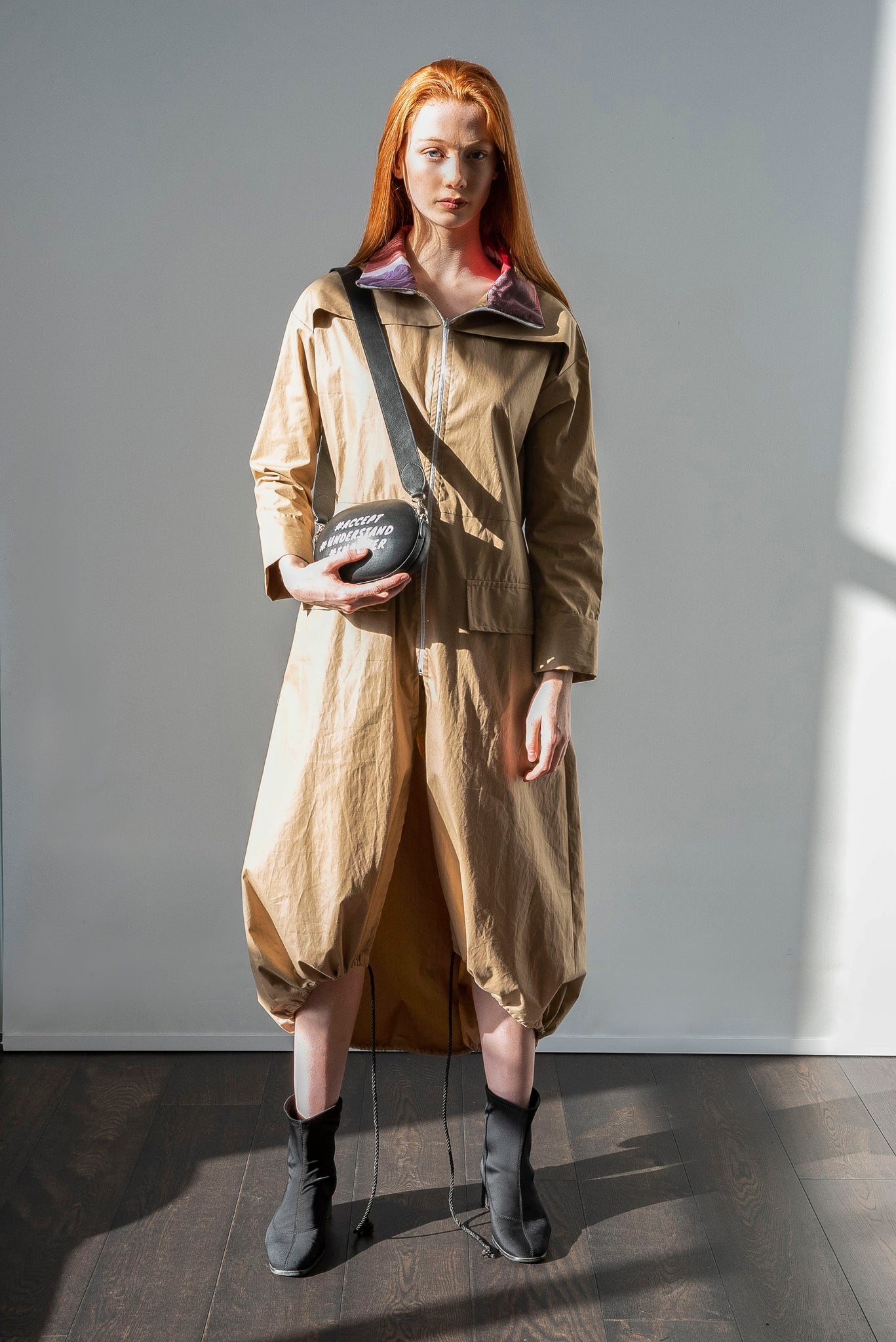 Trench dress