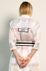 Sheer Organza Jacket