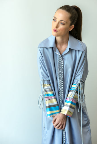 BUTTON DOWN COLLARED KAFTAN