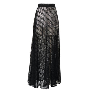 ARSHYS flared tulle skirt